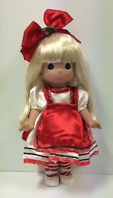"Precious Moments 2014 Disney Christmas Alice In Wonderland 12"" Doll #4978"
