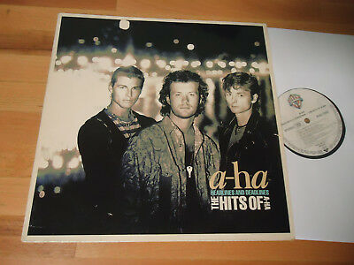 LP A-HA - THE HITS OF 1991 HEADLINES & DEADLINES Vinyl RAR
