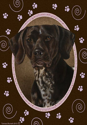 Garden Indoor/Outdoor Paws Flag - German Shorthaired Pointer 170491