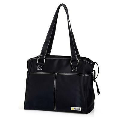 Hauck City Changing Bag (Black) With Shoulder & Hanging Straps - RRP £29.99