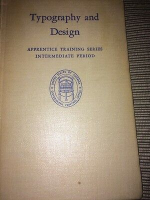 Typography And Design Apprentice Training Series Book 1951
