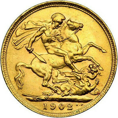Great Britain Gold Sovereign Coin (British Mixed Types, Varied Year/Condition)