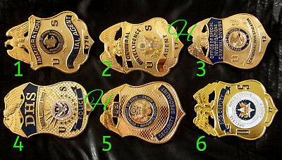 h-/ Historisches badge + choose 1 from Immigration,CIA old, OSI, DHS, SOG Deputy