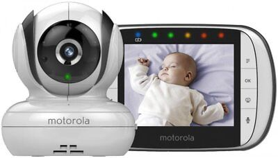"Motorola MBP36S Digital Video Baby Monitor 3.5"" Colour Screen Accessories"