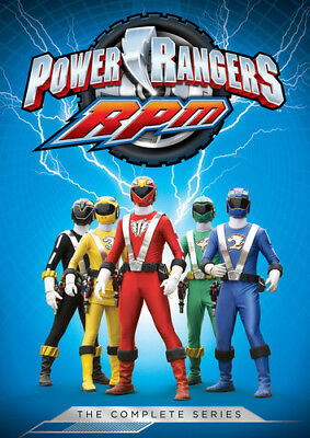 Power Rangers: RPM The Complete Series [New DVD] Boxed Set, Full Frame