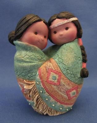 """Friends of the Feather """"Love For Many Moons"""" Figurine - Enesco 1994"""