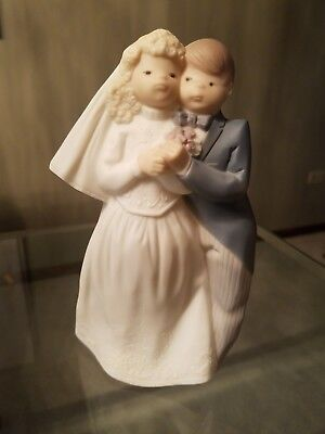 Lladro Golden Memories Bride & Groom