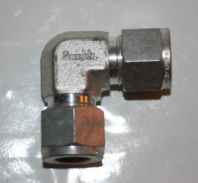 """1/2"""" Tube Carbon Steel Hydraulic Elbow Fitting Swagelok/Parker S-810-9"""