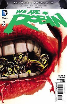 We Are Robin #9 (NM)`16 Bermejo/ Corona