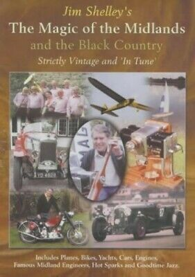 The Magic of the Midlands and the Black Country by Shelley, Jim Paperback Book