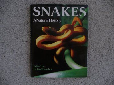 Snakes: A Natural History by Bauchot, Roland Hardback Book The Cheap Fast Free