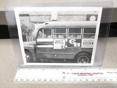 KVAL TV Chan 13 Eugene OR bus 1960s photo WOODY WOODPECKER Kelloggs cereal box