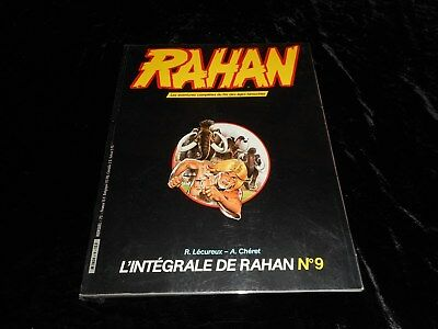 Rahan 9 Editions Vaillant octobre 1984 (couvert)