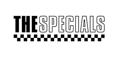 SPECIALS 2 Tone Logo 200mm Scooter Stickers / 2 Tone Stickers Ska Stickers..