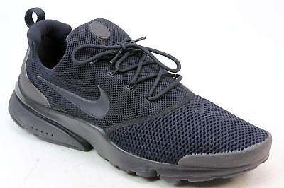 b527736ea69dc7 Mens Nike Presto Fly Black Mesh Lace Up Fashion Casual Sports Trainers Uk  Size 9