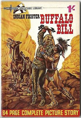 "1964.""BUFFALO BILL"". Heroic Adventure Library Picture Comic # 8. Scarce."