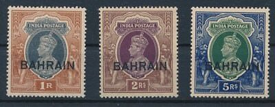 [124409] Bahrain 1938/41 SG 32/34 very fine MNH stamps