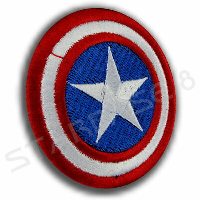 Captain America Shield Emblem Marvel Avengers Aufnäher Patch Infinity War