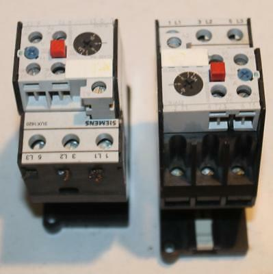 One Siemens 3UA52-00-1J Solid State Overload Relay 6.30-10.00 Amps