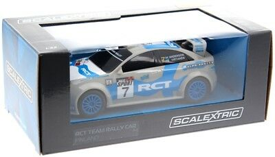 Scalextric 3712 Team Rally Car Weiss #7 SRR