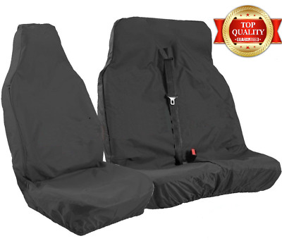 FORD TRANSIT Van Seat Covers Custom LWB MWB SWB 100% WATERPROOF Single & Double