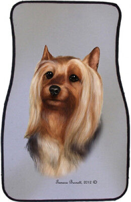 Car Floor Mats Pair - Silky Terrier 36102