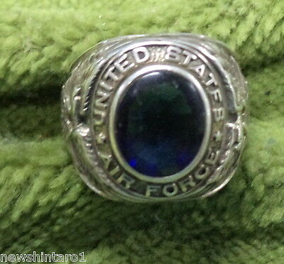 #D254.  United States Air Force Pilot's Ring - Sterling Silver