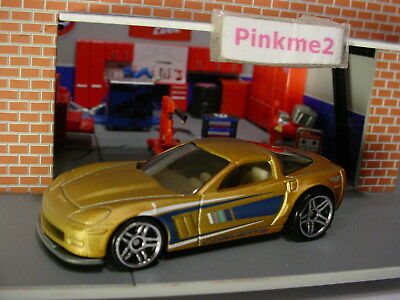 2012 Hot Wheels  SIDE DRAFT  ☆Gray w// Gold ☆Loose Multi Pack Design Exclusive