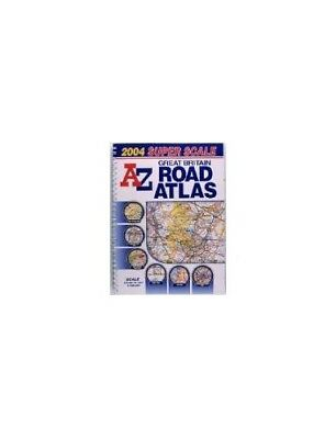 Great Britain Super Scale Road Atla... by Geographers' A-Z Map Sheet map, folded