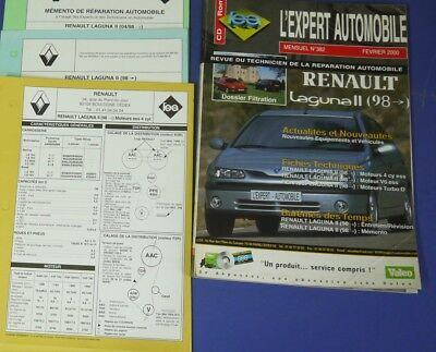 Revue technique l'expert automobile no RTA 382 Renault laguna II 1998->