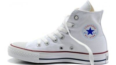 Scarpe Converse Chuck Taylor All Star Sneakers Alte White Optical