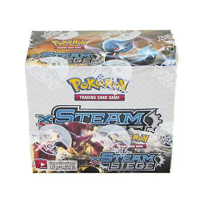 Pokemon Xy Steam Siege Booster Box - Lots Of Full Arts