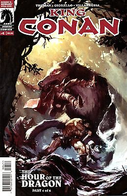 King Conan: The Hour of the Dragon Comic 4 Dark Horse 2013 Truman Giorello