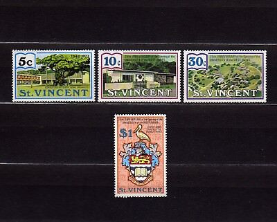 ST. VINCENT #360-363 MNH 25th ANNIV. UNIVERSITY OF THE WEST INDIES