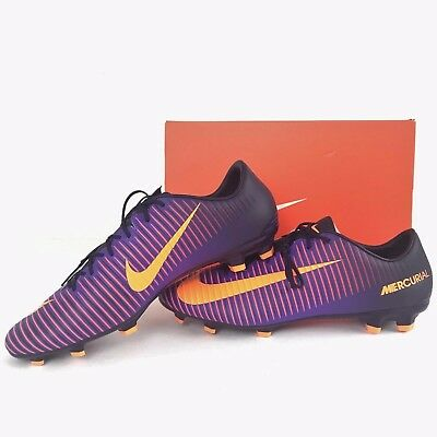 f1f41189baa Nike Mercurial Veloce III FG Soccer Cleats Men s Size 10.5 Purple 847756-585  NEW