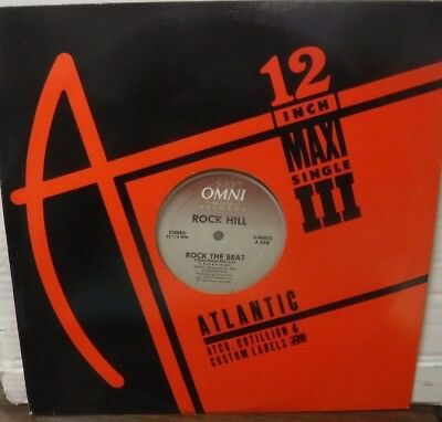 "Rock Hill - Rock the Beat 12"" single o-96852   031118LLE"