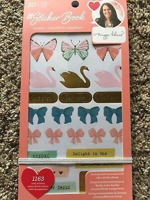 American Crafts Sticker Book Designed By Maggie Holmes - 1163 Pieces 344868 NEW