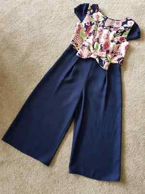 New Girls Beautiful ex Ted Baker Jumpsuit Playsuit Party Outfit 4-14 Years £40