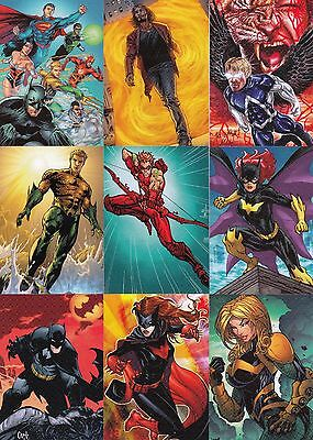 Dc The New 52 2012 Cryptozoic Complete Base Card Set Of 62 Comics Legends