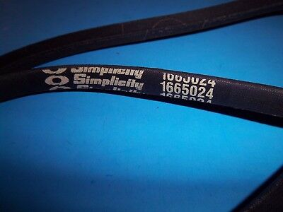 SIMPLICITY MANUFACTURING 1665024 Replacement Belt