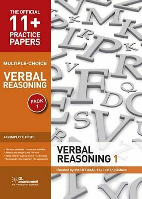 11+ Practice Papers, Verbal Reasoning Pack 1,... by Educational Experts Pamphlet