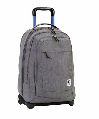 Zaino  Invicta Extra Bump Trolley Plain Color Grigio 1641