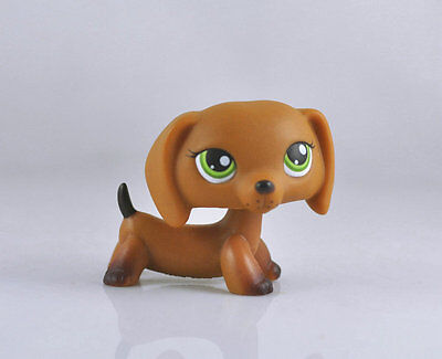Pet Dachshund Dog Collection Child Girl Boy Figure Littlest Toy Loose LPS22