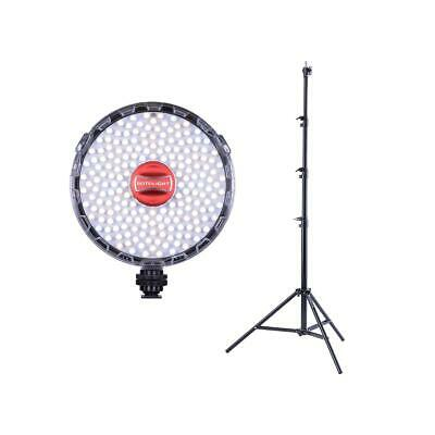 Rotolight NEO II On-camera LED Lighting Fixture, W/Heavy Duty Light Stand 9.5'
