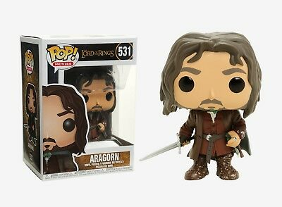 Funko Pop Movies: The Lord of the Rings - Aragorn Vinyl Figure Item #13565