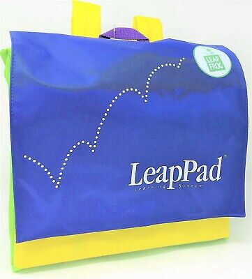 LeapFrog LeapPad Backpack Blue for Learning System Player Book Cartridge