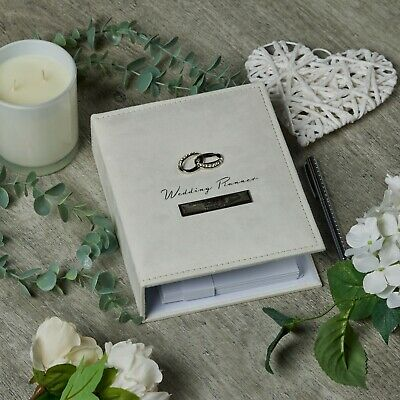 Personalised Amore Wedding Planner Diary Book New Organiser gift WG293-P