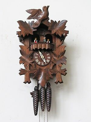 Black Forest German Regula Three Weight Musical Cuckoo Clock