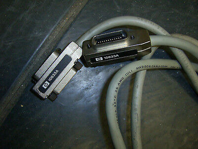 Lot of 5 HP Agilent Keysight 10833A 1-Meter HPIB GPIB Instrument Interface Cable