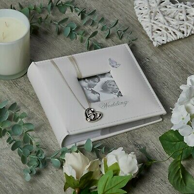 Beautiful Wedding Photo Picture Album New In Box 80 x 6 x 4  71142